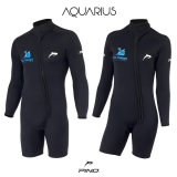Aquarius Unisex Spring wetsuit ML 3mm 5mm ou 7mm